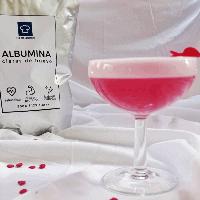 cóctel con albumina