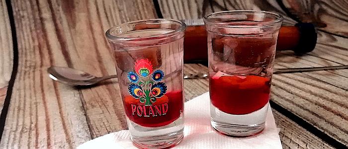 shot Polaco perro loco