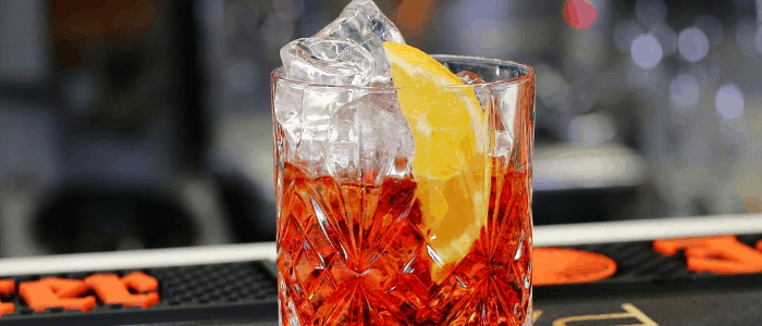 receta de negroni coctel
