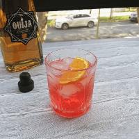 Gin ouija negroni